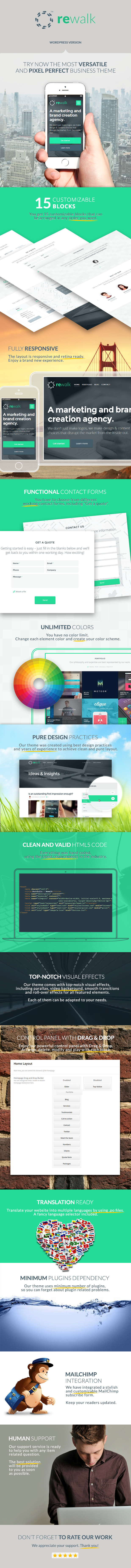 ReWalk - Business WordPress Theme